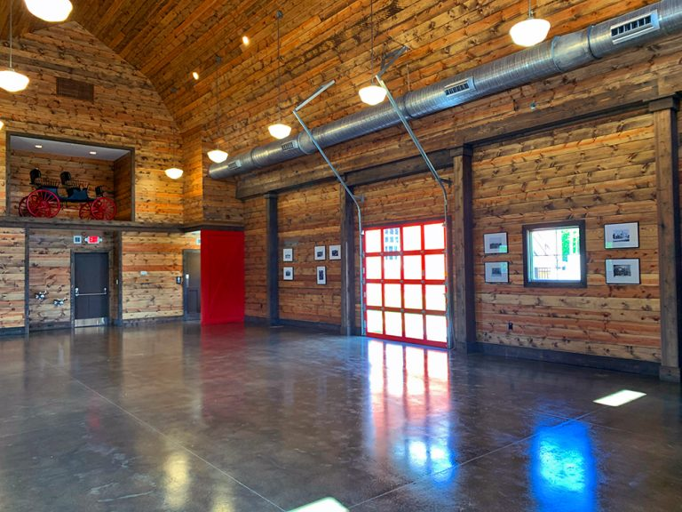 Maples Park Barn Interior
