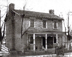 The Cassaday Place was built by one of the first families to settle in Floydsburg in 1828. The 2-story limestone house once served as a stagecoach stop to Louisville. Floydsburg was developed one mile away from a pioneer fort built by Col. John Floyd, where the town and nearby fork get their namesake.